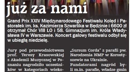 Sosnowiec: Festiwal już za nami