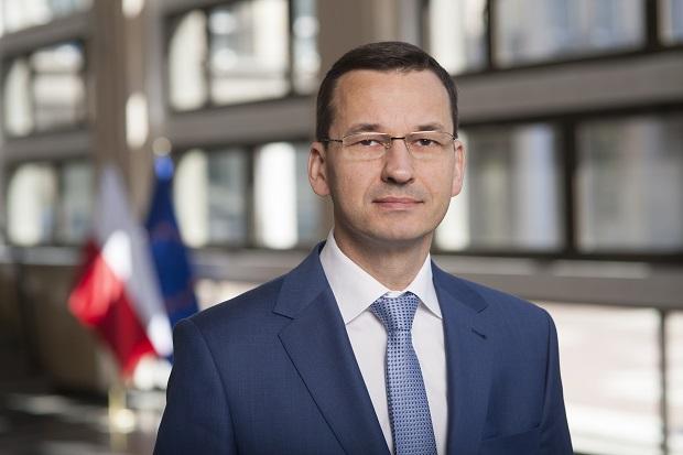 Premier Mateusz Morawiecki  foto.: .mr.gov.pl