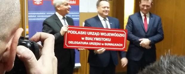 Suwałki: Otwarcie Delegatury Urzędu Wojewódzkiego