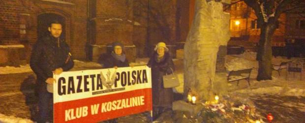 Koszalin: 10 lutego Miesięcznica Smoleńska
