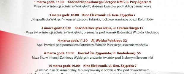 Warszawa Bielany-Żoliborz: Zaproszenie – Dni Pamięci Żołnierzy Wyklętych 19.02-17.03