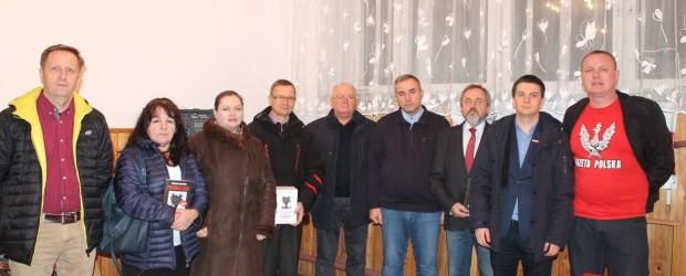 Gorzyce: Spotkanie z p.Wojciechem Sumlińskim