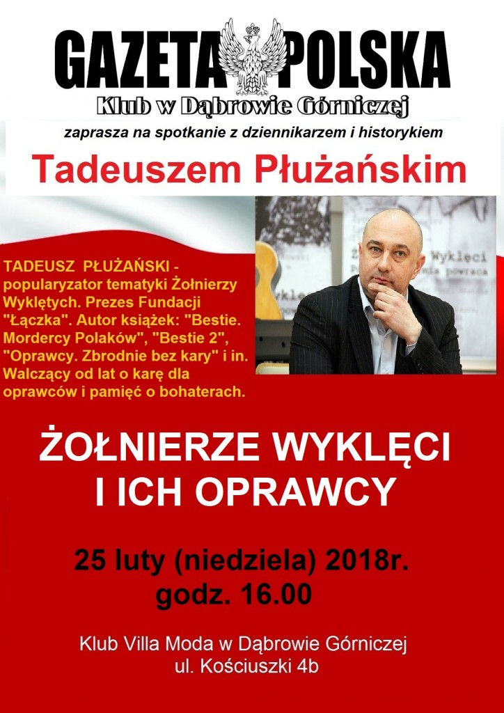 KGP spotkanie z Płużańskim