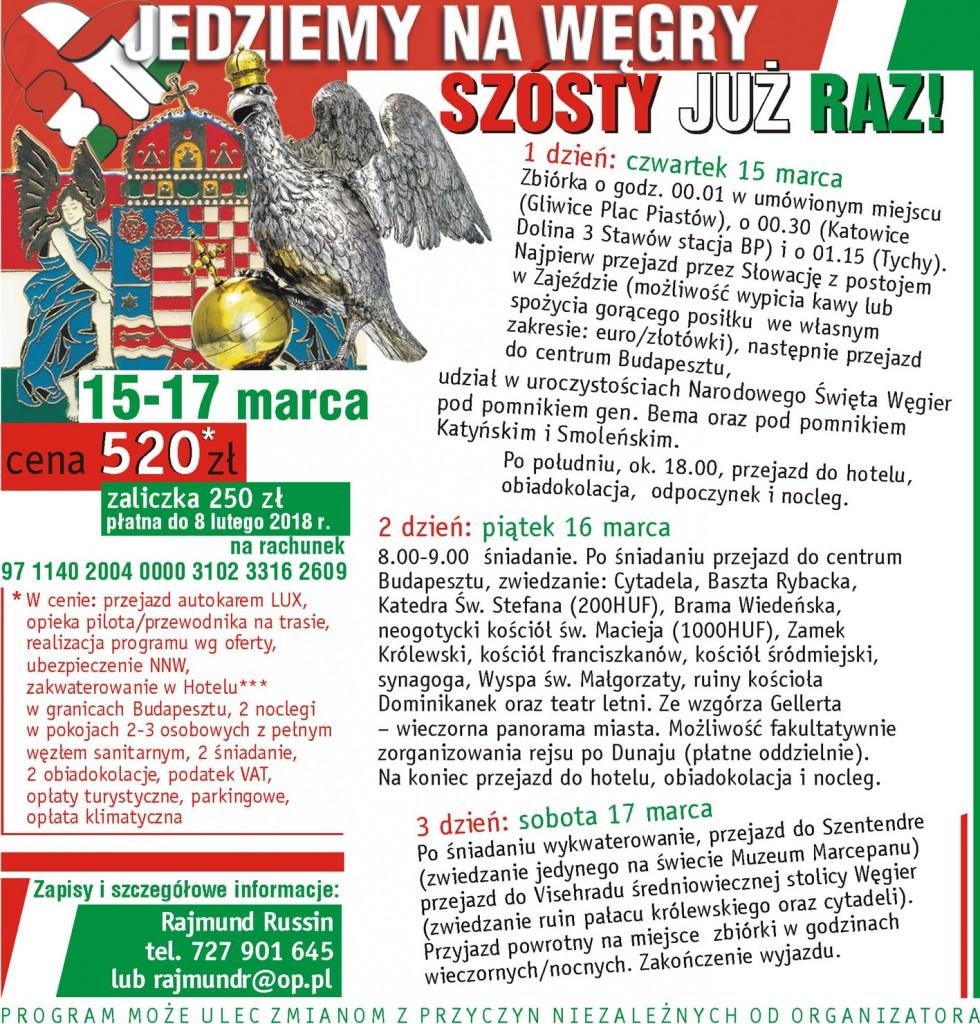 Knurów Wielki Wyjazd na Węgry