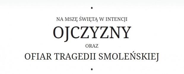 Klub Gazety Polskiej w Krośnie zaprasza na Mszę św. w intencji Ojczyzny i Ofiar tragedii smoleńskiej
