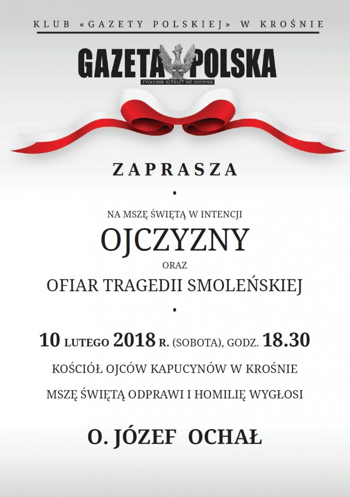 Krosno Msz sw 2018