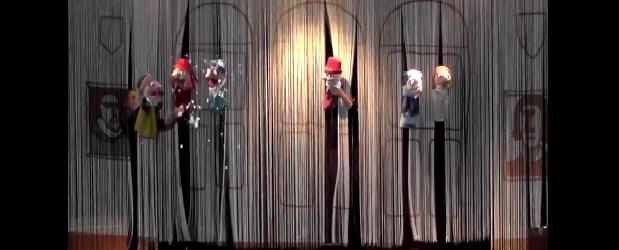 Oslo: Występ teatru lalek z Torunia