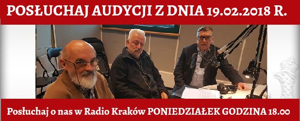 """POSŁUCHAJ AUDYCJI: """"Radiowy Klub Gazety Polskiej"""" – 19.02.2018 r.(audio)"""