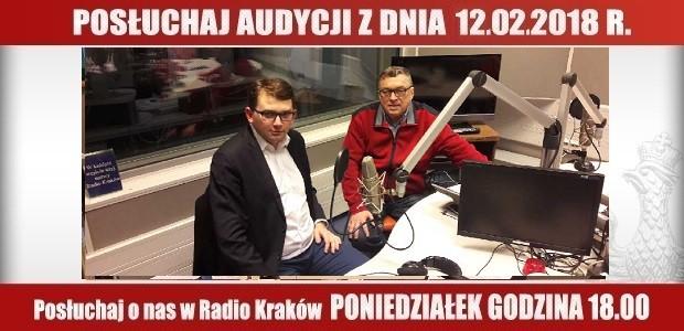 """POSŁUCHAJ AUDYCJI: """"Radiowy Klub Gazety Polskiej"""" – 12.02.2018 r.(audio)"""