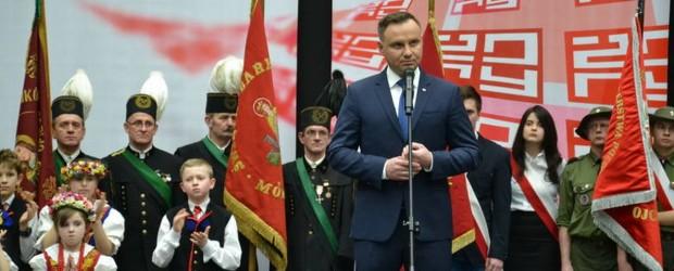 Rybnik: Prezydent Andrzej Duda w Żorach