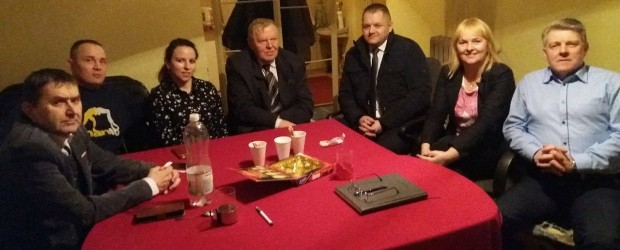 Skierniewice: Spotkanie z Posłem Grzegorzem Wojciechowskim oraz Senatorem Rafałem Ambrozik