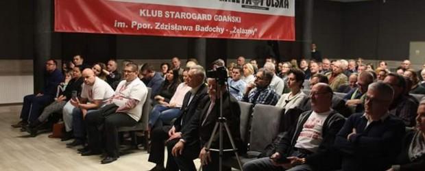Starogard Gdański: Spotkanie z Adamem Borowskim oraz Pawłem Piekarczykiem