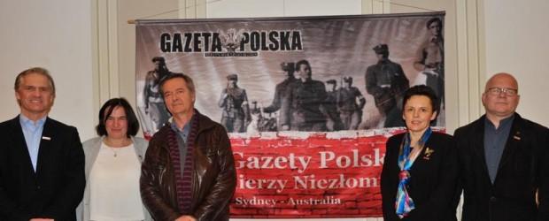 Sydney II (Australia): Spotkanie z Anna i Andrzejem Kolakowskimi w konsulacie RP