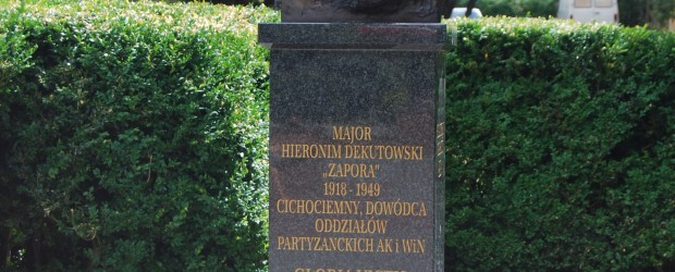 Tarnobrzeg: cc.mjr.Hieroni Dekutowski