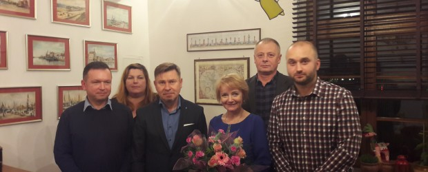Ustka: Spotkanie grupy inicjatywnej z Panią Poseł Jolantą Szczypińską