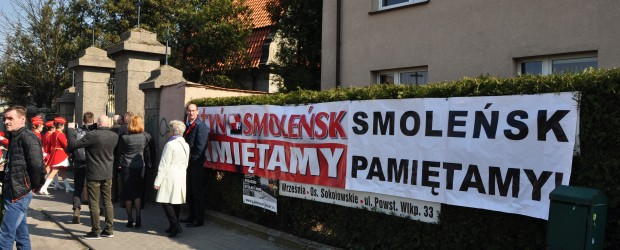 Września: Miesięcznica Tragedii pod Smoleńskiej
