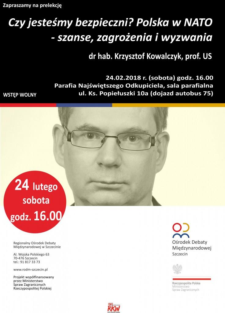 Zaproszenie prof. Krzysztof Kowalczyk