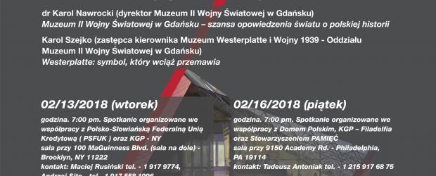 USA: Spotkania z dyrekcją Muzeum II Wojny Światowej w Gdańsku