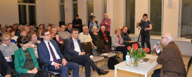 Berlin: Relacja ze spotkania z Prof. Zdzisławem Krasnodębskim