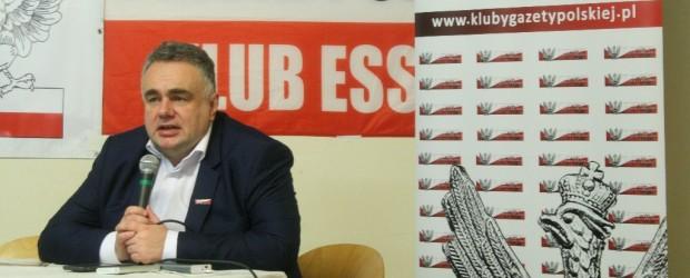 """Essen: Red. Tomasz Sakiewicz i Paweł Piekarczyk odwiedzili Klub """"Gazety Polskiej"""" w Essen."""