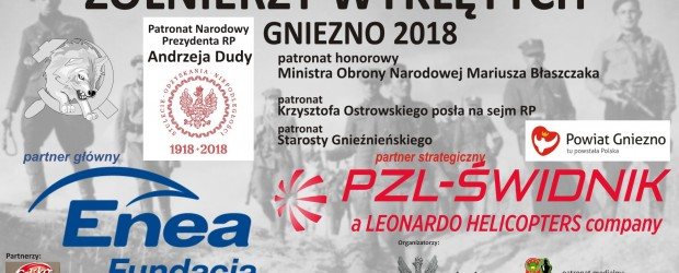 """V Ogólnopolskiego Turnieju Pamięci """"Żołnierzy Wyklętych"""" – Gniezno 2018"""