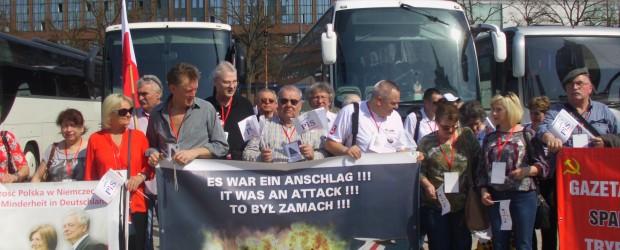 Berlin-Brandenburg (Niemcy): 96 Miesięcznica smoleńska