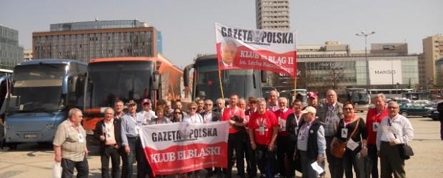 Elbląg II: 96 miesięcznica tragedii pod Smoleńskiem w Warszawie