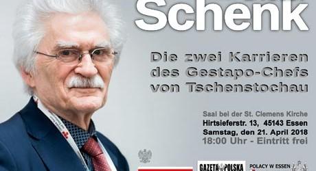 Essen – Zaproszenie na spotkanie z prof. Dieter Schen (21.04 godz.18:00)