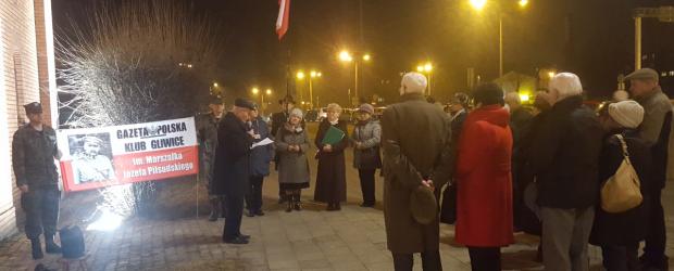 Gliwice: 95 Miesięcznica Smoleńska