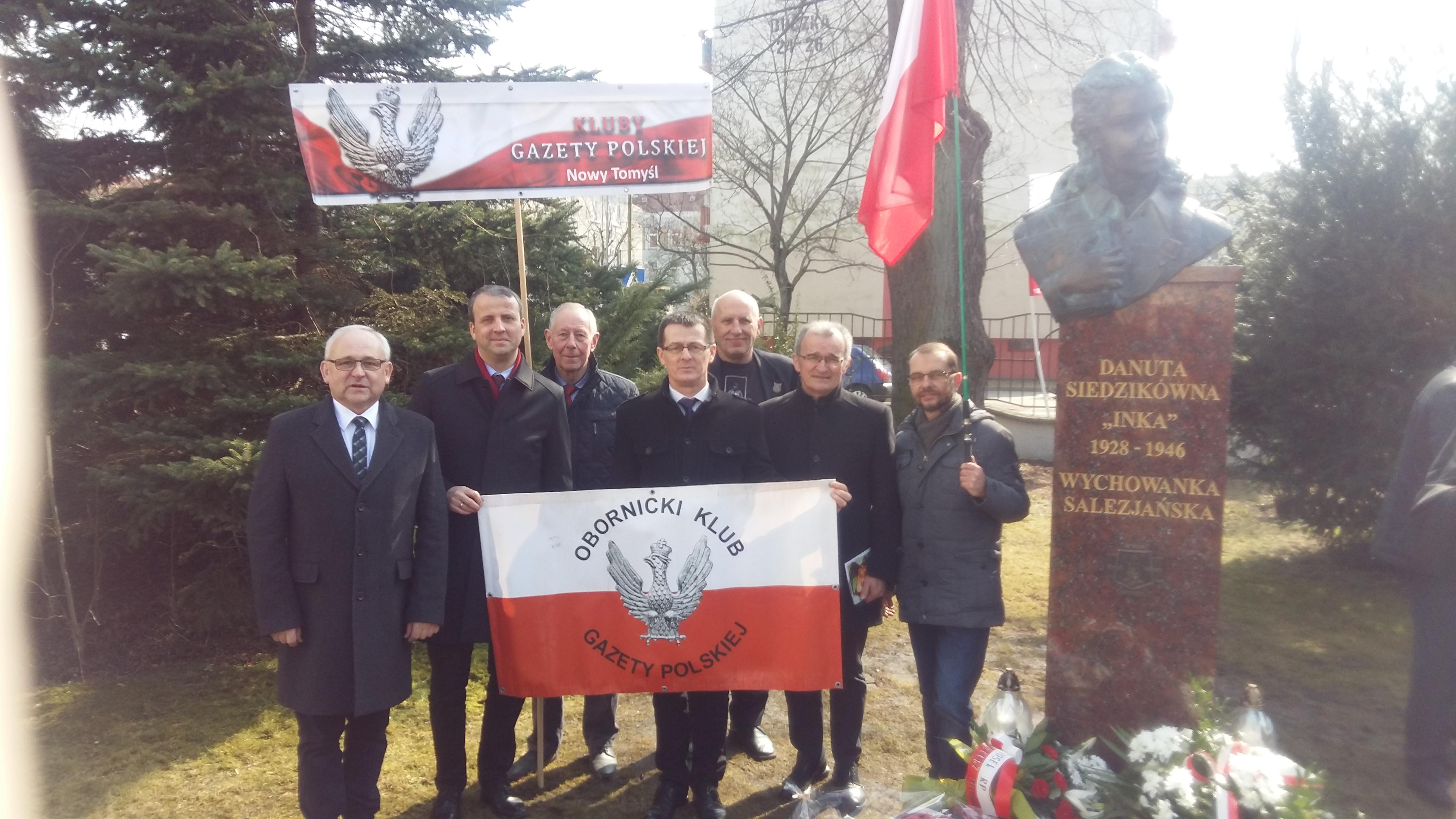 Kluby Gazety Polskiej Oborniki Wlkp Odsłonięcie Pomnika