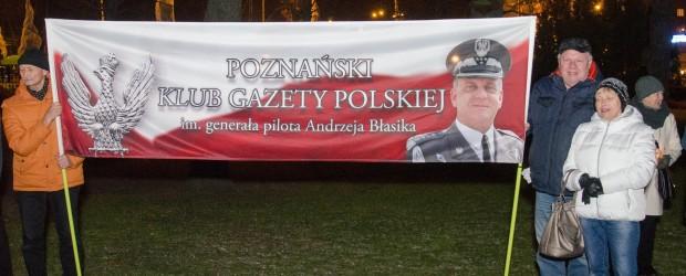 Poznań: 95 miesięcznica smoleńska