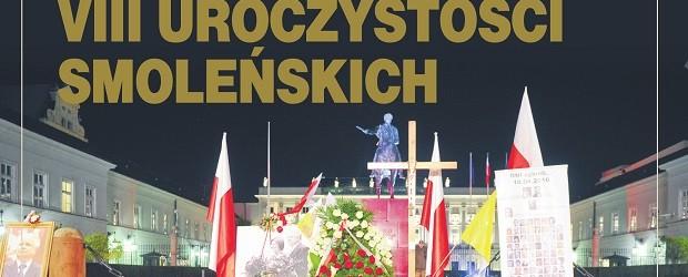 """8. rocznica katastrofy smoleńskiej. Program Klubów """"Gazety Polskiej"""""""