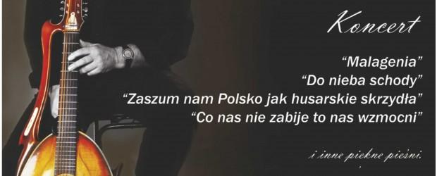Przysucha – koncert patriotyczny Macieja Wróblewskiego, 19 maja, g. 18,  w Domu Kultury. Sponsorem wydarzenia jest Grupa Energa.