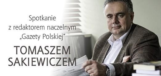"""Gdynia – spotkanie z red. nacz. """"Gazety Polskiej"""" Tomaszem Sakiewiczem, 24 czerwca"""