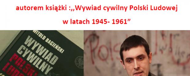 Lębork – Zaproszenie na spotkanie z dr Witoldem Bagieńskim (15 maja godz. 19:00)