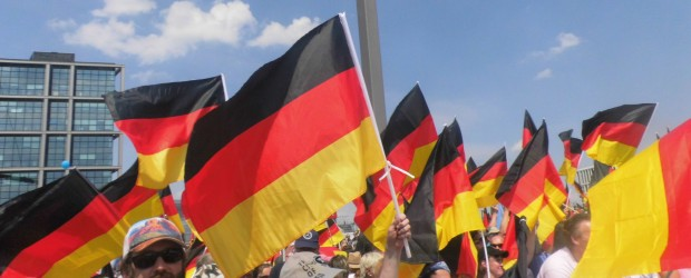 Berlin – Brandenburg (Niemcy): Wielka demonstracja przeciwko rządowi dr Angeli Merkel