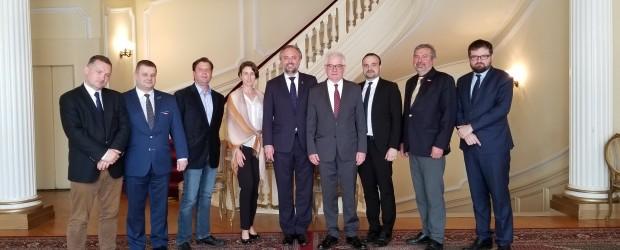 Filadelfia: Wizyta min. Jacka Czaputowicza w Konsulacie RP w NY