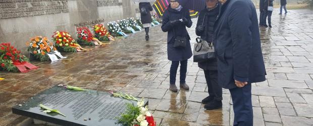 Hamburg: 73 rocznica wyzwolenia niemieckiego obozu koncentracyjnego w Bergen-Belsen