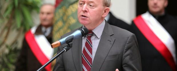 Kutno II – spotkanie z  Januszem Wojciechowskim- polskim prawnikiem i politykiem, posłem do Parlamentu, 10 maja