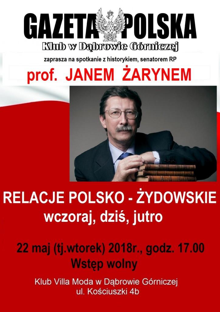KGP spotkanie z prof. J. Żarynem
