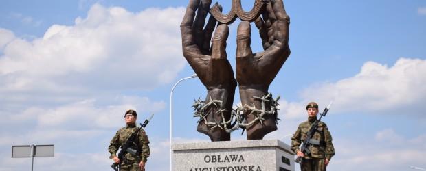 Suwałki: Odsłonięcie pierwszego w świecie Pomnika Ofiar Obławy Augustowskiej