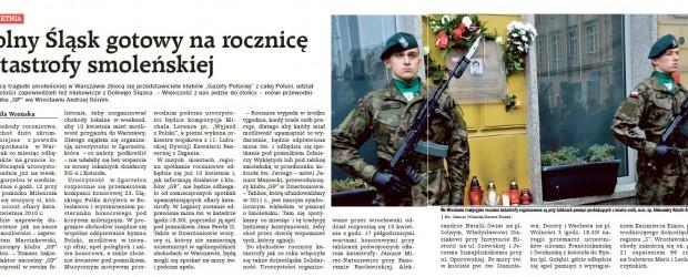 Dolny Śląsk gotowy na rocznicę katastrofy smoleńskiej