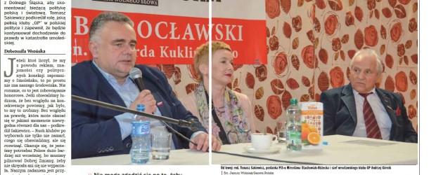 Dociekanie prawdy o Smoleńsku to zobowiązanie honorowe