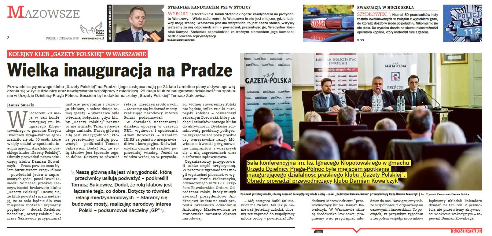 GPC Mazowiecki - Warszawa Praga