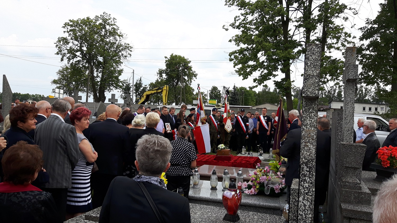 Lochow pogrzeb 2018