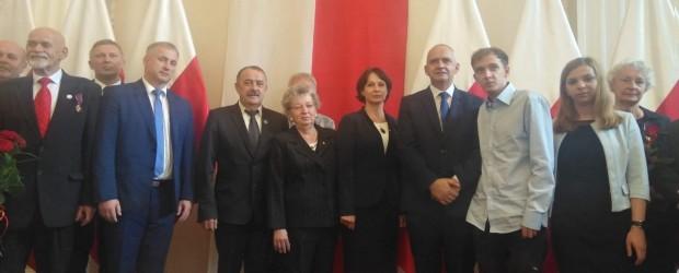 Mielec: Złoty Krzyż Zasługi dla Władysława Adamczyka
