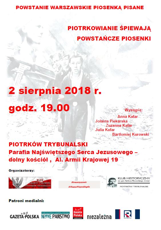 Piotrkow Tryb koncert 2018