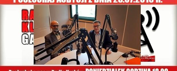 """POSŁUCHAJ AUDYCJI: """"Radiowy Klub Gazety Polskiej"""" – 23.07.2018 r.(audio)"""