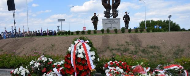 """[Tydzień w Klubach """"GP""""]  Pomnik  Ofiar Obławy Augustowskiej"""
