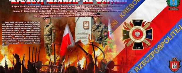 Dzierżoniów II – Zaproszenie 75. rocznica Krwawej Niedzieli apogeum Rzezi Wołyńskiej